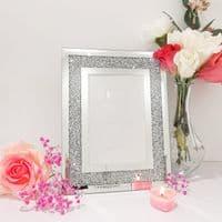 Silver Crystal Photo Frame